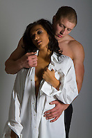 contemporary interracial Romance novel cover stock photograph by Jenn LeBlanc for Illustrated Romance and Studio Smexy