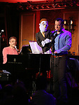 Stephanir D'Abruzzo and John Tartaglia during the 'Avenue Q' 15th Anniversary Reunion Concert at Feinstein's/54 Below on July 30, 2018 in New York City.
