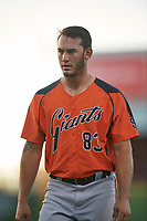 AZL Giants Orange Tyler Wyatt (83) during an Arizona League game against the AZL Cubs 1 on July 10, 2019 at Sloan Park in Mesa, Arizona. The AZL Giants Orange defeated the AZL Cubs 1 13-8. (Zachary Lucy/Four Seam Images)