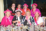 CHICKS NIGHT: Noelle Barrett, Lispol,e having a great time on her hen night with family and friends at the Kingdom Greyhound Stadium on Friday, seated l-r: Bernadine Devane, Gabrielle Kennedy, Noelle Barrett and Marie O'Brien. Back l-r: Elaine Dold, Aisling Dold, Mary Fitzgerald and Jackie Hick.