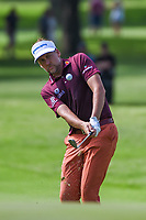 Ian Poulter (GBR) chips on to 2 during round 2 of the 2019 Charles Schwab Challenge, Colonial Country Club, Ft. Worth, Texas,  USA. 5/24/2019.<br /> Picture: Golffile   Ken Murray<br /> <br /> All photo usage must carry mandatory copyright credit (© Golffile   Ken Murray)