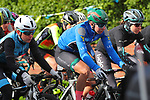 Race leader Lorena Wiebes (NED) Parkhotel Valkenburg during Stage 2 of the 2019 ASDA Tour de Yorkshire Women's Race, running 132km from Bridlington to Scarborough, Yorkshire, England. 4th May 2019.<br /> Picture: ASO/SWPix | Cyclefile<br /> <br /> All photos usage must carry mandatory copyright credit (© Cyclefile | ASO/SWPix)