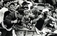 Oakland Raider fans <br />(photo/Ron Riesterer)