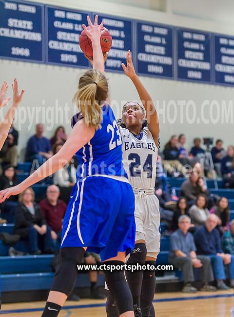 Glastonbury @ Wethersfield Varsity Girls Basketball