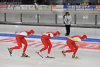 SCHAATSEN: BERLIJN: Sportforum Berlin, 05-12-2014, ISU World Cup, ©foto Martin de Jong