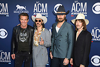 LAS VEGAS, NV - APRIL 7: Dennis Quaid and Midland attend the 54th Annual ACM Awards at the Grand Garden Arena on April 7, 2019 in Las Vegas, Nevada. <br /> CAP/MPIIS<br /> &copy;MPIIS/Capital Pictures