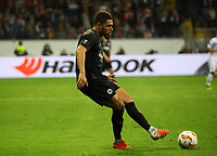 Simon Falette (Eintracht Frankfurt) - 04.10.2018: Eintracht Frankfurt vs. Lazio Rom, UEFA Europa League 2. Spieltag, Commerzbank Arena, DISCLAIMER: DFL regulations prohibit any use of photographs as image sequences and/or quasi-video.