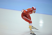 SCHAATSEN: HEERENVEEN: IJsstadion Thialf, 11-11-2012, KPN NK afstanden, Seizoen 2012-2013, 5000m Dames, Nederlands kampioen, Marije Joling, ©foto Martin de Jong