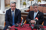 Paul Murray and Malcolm Murray having a postV AGM press conference