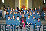 Emma Sugrue pupils were over the moon as they were confirmed on Friday by Bishop of Kerry Bill Muphy in Our Lady & St Brendan's Church, Tralee on Friday................... . ............................... ..........