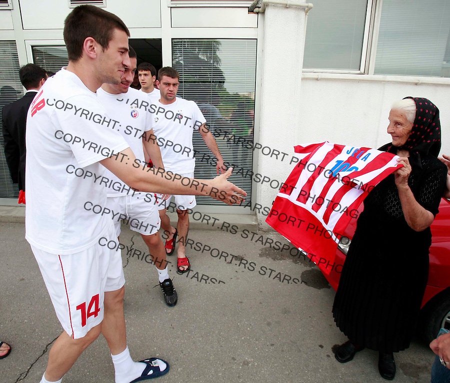 Baba Jela Sport Fudbal Crvena Zvezda 24.5.2009. photo: Pedja Milosavljevic
