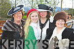 Killarney Musical Society cast from their latest production Titanic who marched in the Killarney St Patrick's day parade on Saturday l-r: Judy Rezin, Andrea Thornton, Brid Mills and Betty Rohan ..