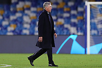 Carlo Ancelotti coach of Napoli leaves disappointed on the pitch<br /> Napoli 10-12-2019 Stadio San Paolo <br /> Football Champions League 2019/2020 Group E<br /> SSC Napoli - KRC Genk<br /> Photo Cesare Purini / Insidefoto