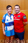 Eoin Sayers and Ríona Kennedy contestants  at the Tralee Rugby Club's 'Strictly Come Dancing' event in the Ballyroe Heights Hotel on Friday night.