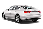 Rear three quarter view of a 2014 Audi A5 Sportback AMBIENTE 5 Door Hatchback 2WD