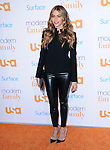 Westwood , California - October 28 :  Sofia Vergara <br /> <br />  arrives at The USA Network's Modern Family Fan Appreciation Day held at Westwood Village Theatres in Westwood, California on October 28,2012                                                                               &copy; 2013 Hollywood Press Agency