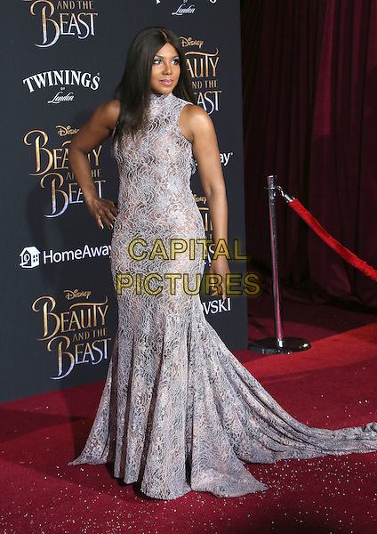 02 March 2017 - Hollywood, California - Toni Braxton. Disney's &quot;Beauty and the Beast' World Premiere held at El Capitan Theatre.   <br /> CAP/ADM/FS<br /> &copy;FS/ADM/Capital Pictures