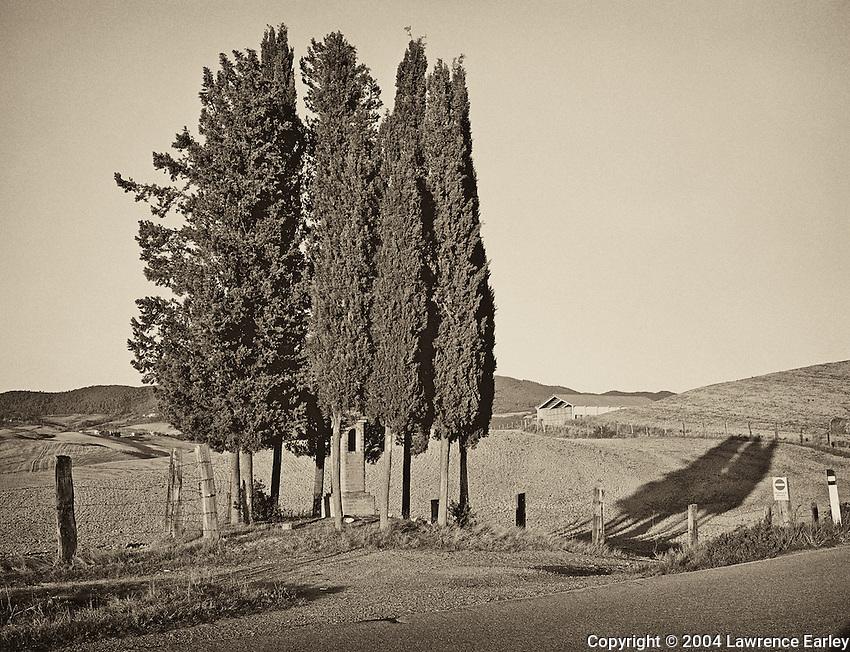 Roadside Shrine near Volterra