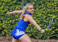 Hilversum, Netherlands, August 9, 2017, National Junior Championships, NJK, Isolde de Jong<br /> Photo: Tennisimages/Henk Koster