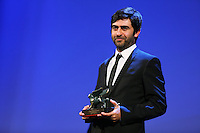 Emin Alper attends the closing ceremony during the 72nd Venice Film Festival at the Palazzo Del Cinema in Venice, Italy, September 12, 2015.<br /> UPDATE IMAGES PRESS/Stephen Richie