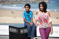 "Actor Samuel Lange and actress Samantha Castillo presenting ""Pelo Malo"" film during the 61 San Sebastian Film Festival, in San Sebastian, Spain. September 21, 2013. (ALTERPHOTOS/Victor Blanco) /NortePhoto"