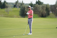 Jack Singh Brar (ENG) on the 17th, Round 2 of the Portugal Masters, Dom Pedro Victoria Golf Course, Vilamoura, Vilamoura, Portugal. 25/10/2019<br /> Picture Andy Crook / Golffile.ie<br /> <br /> All photo usage must carry mandatory copyright credit (© Golffile | Andy Crook)