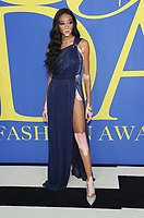 BROOKLYN, NY - JUNE 4: Winnie Harlow at the 2018 CFDA Fashion Awards at the Brooklyn Museum in New York City on June 4, 2018. <br /> CAP/MPI/JP<br /> &copy;JP/MPI/Capital Pictures