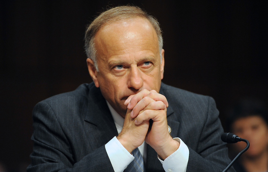"""Rep. Steve King, speaks out against the repeal of DOMA during the hearing entitled """"S.598, The Respect for Marriage Act: Assessing the Impact of DOMA on American Families."""""""
