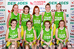The Team Kerry team that played in the  U16 girls final on Sunday front row l-r: Eva McLoughlin, Aoinhin Morrissey Edel O'Brien, Sarah Folan. BAck row: Niamh Bellew, Niamh Coleman Horgan, Holly Clifford, Aoife O'Connell, Fiona Dineen
