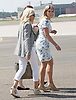 19.07.2017; Berlin, Germany: AMANDA TUCKER AND NATASHA ARCHER<br /> Kat Middleton's hairdresser and dresser arrive at Teigel Airport, Berlin on the royal flight at the start of their tour of Germany.<br /> Mandatory Photo Credit: &copy;Francis Dias/NEWSPIX INTERNATIONAL<br /> <br /> IMMEDIATE CONFIRMATION OF USAGE REQUIRED:<br /> Newspix International, 31 Chinnery Hill, Bishop's Stortford, ENGLAND CM23 3PS<br /> Tel:+441279 324672  ; Fax: +441279656877<br /> Mobile:  07775681153<br /> e-mail: info@newspixinternational.co.uk<br /> Usage Implies Acceptance of OUr Terms &amp; Conditions<br /> Please refer to usage terms. All Fees Payable To Newspix International
