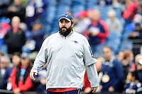 Sunday, October 2, 2016: New England Patriots defensive coordinator Matt Patricia before the NFL game between the Buffalo Bills and the New England Patriots held at Gillette Stadium in Foxborough Massachusetts. Buffalo defeats New England 16-0. Eric Canha/Cal Sport Media