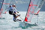 Netherlands29erWomenCrewNEDIU1IsmeneUsman<br /> Netherlands29erWomenHelmNEDOV6OdileVan Aanholt<br /> Day1, 2015 Youth Sailing World Championships,<br /> Langkawi, Malaysia