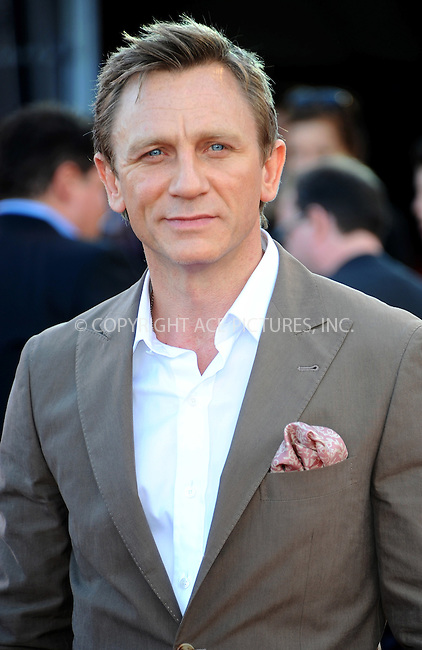 WWW.ACEPIXS.COM . . . . .  ..... . . . . US SALES ONLY . . . . .....August 11 2011, London....Actor Daniel Craig arriving at the 'Cowboys and Aliens' UK film premiere at the 02 Arena on August 11, 2011 in London, England.....Please byline: FAMOUS-ACE PICTURES... . . . .  ....Ace Pictures, Inc:  ..Tel: (212) 243-8787..e-mail: info@acepixs.com..web: http://www.acepixs.com