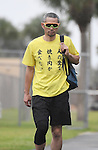 Ichiro Suzuki (Marlins),<br /> FEBRUARY 22, 2017 - MLB :<br /> Miami Marlins spring training baseball camp in Jupiter, Florida, United States. (Photo by AFLO)