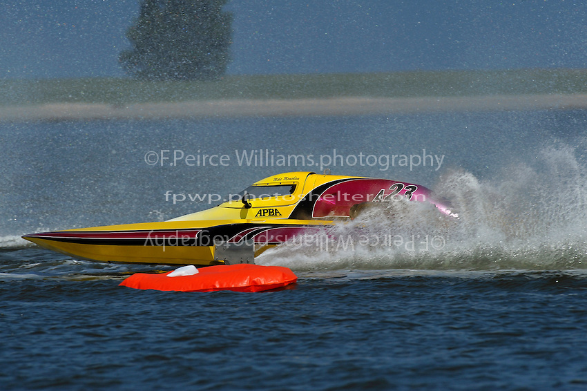 """Mike Monohan, A-23 """"Geezerboat"""" (2.5 MOD class hydroplane(s)"""
