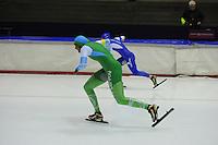 SCHAATSEN: HEERENVEEN: 25-10-2014, IJsstadion Thialf, Trainingswedstrijd schaatsen, Anice Das, ©foto Martin de Jong