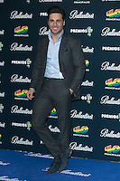 David Bustamante attend the 40 Principales Awards at Barclaycard Center in Madrid, Spain. December 12, 2014. (ALTERPHOTOS/Carlos Dafonte) /NortePhoto