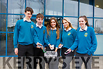 Mercy Mounthawk students are dumping their phones for a week, during Family Week which is running for the week in the school. L-r Louie Byrne, Simon Pierce, Ellen Linnehan, Emilia Jonutyt and Ellie Sugrue.