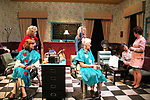 Liz Keifer and cast - Dress rehearsal on November 28, 2017 of Steel Magnolias performed at the Phillipstown Depot Theatre, Garrison, New York. (Photo by Sue Coflin/Max Photo)