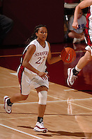 13 November 2005: Rosalyn Gold-Onwude during Stanford's 92-65 win over Love and Basketball at Maples Pavilion in Stanford, CA.