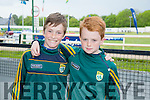 l-r  Colleen Litchfield and Tom Flavin  enjoying  the Kerry GAA Night of Champions at the Kingdom Greyhound Stadium on Friday