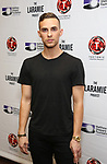 "Adam Rippon attends the cast photo call for ""Laramie: A Legacy""  on September 24, 2018 at The Gerald W. Lynch Theater at John Jay College in New York City."