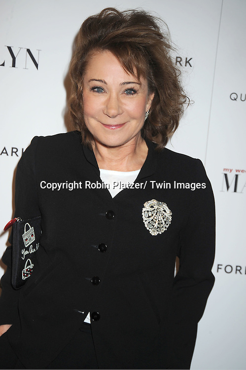 "Zoe Wanamaker attends The New York Premiere of ""My Week With Marilyn"" on November 13, 2011 at the Paris Theatre in New York City. The movie stars Michelle Williams, Kenneth Branagh, Dominic Cooper and Zoe Wanamaker."