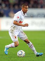 FUSSBALL   1. BUNDESLIGA  SAISON 2011/2012   30. Spieltag FC Augsburg - VfB Stuttgart           10.04.2012 Marcel Ndjeng (FC Augsburg)