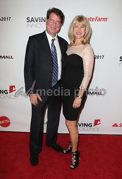 30 September 2017 - Los Angeles, California - Frank Mayor, Conroy Kanter. 6th Annual Saving Innocence Gala held at Loews Hollywood Hotel. Photo Credit: F. Sadou/AdMedia