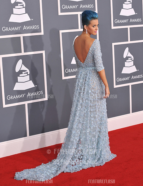 Katy Perry at the 54th Annual Grammy Awards at the Staples Centre, Los Angeles..February 12, 2012  Los Angeles, CA.Picture: Paul Smith / Featureflash