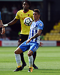 Anthony Knockaert of Brighton & Hove Albion during the premier league match at the Vicarage Road Stadium, Watford. Picture date 26th August 2017. Picture credit should read: Robin Parker/Sportimage