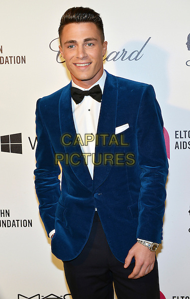 02 March 2014 - West Hollywood, California - Colton Haynes. 22nd Annual Elton John Academy Awards Viewing Party held at West Hollywood Park.  <br /> CAP/ADM/CC<br /> &copy;ChewAdMedia/Capital Pictures