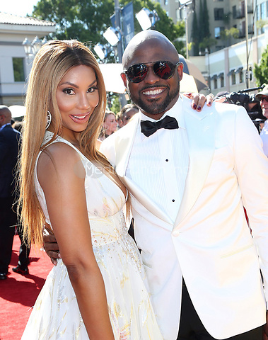 PASADENA, CA - April 30: Tamar Braxton, Wayne Brady, At 44th Annual Daytime Emmy Awards Roaming At The Pasadena Civic Auditorium In California on April 30, 2017. Credit: FS/MediaPunch