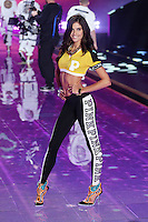 Sarah Sampaio on the runway at the Victoria's Secret Fashion Show 2014 London held at Earl's Court, London. 02/12/2014 Picture by: James Smith / Featureflash